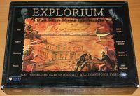 Board Game: Explorium: A High Stakes Mining Extravaganza