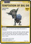 """Board Game: Pathfinder Adventure Card Game: Wrath of the Righteous – """"Temptation of Big Die"""" Promo Card"""