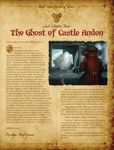 Board Game: Mice and Mystics: Lost Chapter – The Ghost of Castle Andon