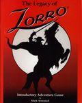 RPG Item: The Legacy of Zorro