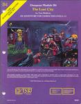 RPG Item: B4: The Lost City