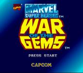 Video Game: Marvel Super Heroes: War of the Gems