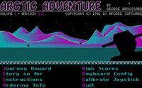 Video Game: Arctic Adventure