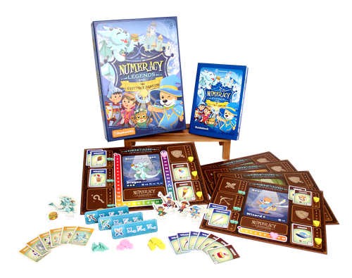 Board Game: Numeracy Legends and The Gluttony Dragon