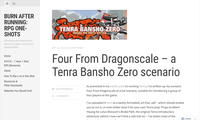 RPG Item: Four From Dragonscale
