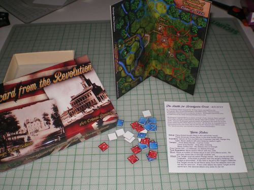 Board Game: Postcard from the Revolution
