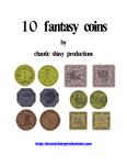 RPG Item: 10 Fantasy Coins