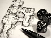 Board Game: D100 Dungeon