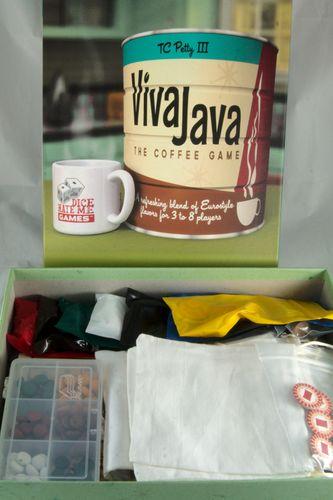 Board Game: VivaJava: The Coffee Game