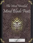 RPG Item: The Mind Unveiled: Mind Blade Feats