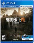 Video Game: Resident Evil 7: Biohazard