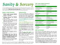 RPG Item: Sanity & Sorcery
