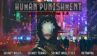 Board Game: Human Punishment: Social Deduction 2.0