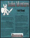 RPG Item: Avalon Adventures Vol 2 #02: Cold Blood (Pathfinder)