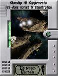 RPG Item: Starship Kit Supplemental: Pre-done Names & Registration