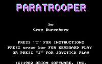 Video Game: Paratrooper