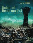 RPG Item: Dulce et Decorum Est: Great War Trail of Cthulhu