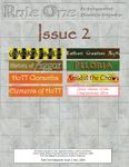 Issue: Rule One (Issue 2 - Nov 2009)