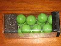 Board Game: Abalone Extra Player Marbles