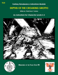 RPG Item: Memories of the Toad God #0: Depths of the Croaking Grotto (Swords & Wizardry)