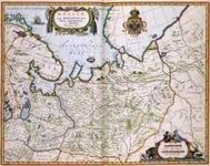 RPG Item: Antique Maps 09: North Eastern Russia of the 1600's