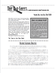 Issue: The Rap Sheet (Vol 1, Issue 1 - May 2009)