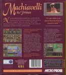 Video Game: Machiavelli the Prince