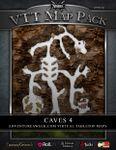 RPG Item: VTT Map Pack: Caves 4