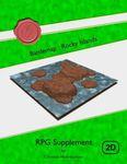 RPG Item: Battlemap: Rocky Islands