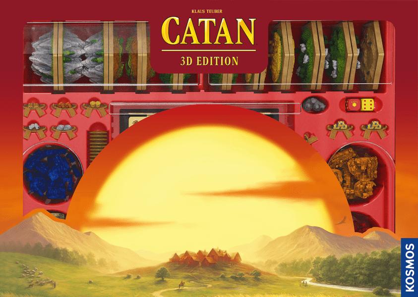CATAN: 3D Edition, KOSMOS, 2021