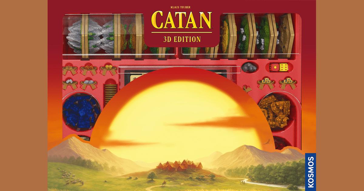 Unboxing Catan: 3D Edition