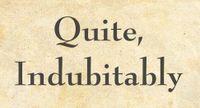 RPG: Quite, Indubitably