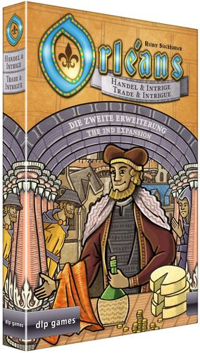 Board Game: Orléans: Trade & Intrigue