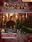 RPG Item: Pathfinder 2 Society Scenario 2-00: King in Thorns (Levels 7 - 8)