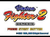 Video Game: Virtua Fighter 2 (Genesis)