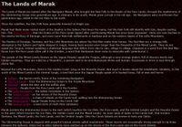 RPG Item: The Lands of Marak