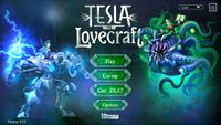Video Game: Tesla vs Lovecraft