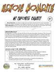 RPG Item: Heroic Moments #1: My Favorite Charity