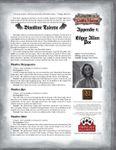 RPG Item: Leagues of Gothic Horror Appendix 1: Edgar Allen Poe