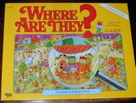 Board Game: Where Are They?