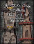 RPG Item: Transportation Sensations: Ship Pack 4