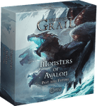 Board Game Accessory: Tainted Grail: Monsters of Avalon – Past and Future Miniature Pack