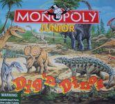 Board Game: Monopoly Junior: Dig 'n Dinos