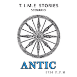 Board Game: Antic (fan expansion for T.I.M.E Stories)