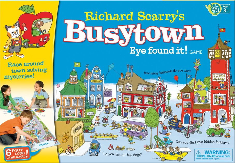 Image result for busytown eye found it