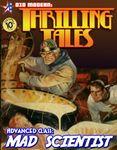 RPG Item: Advanced Class: Mad Scientist