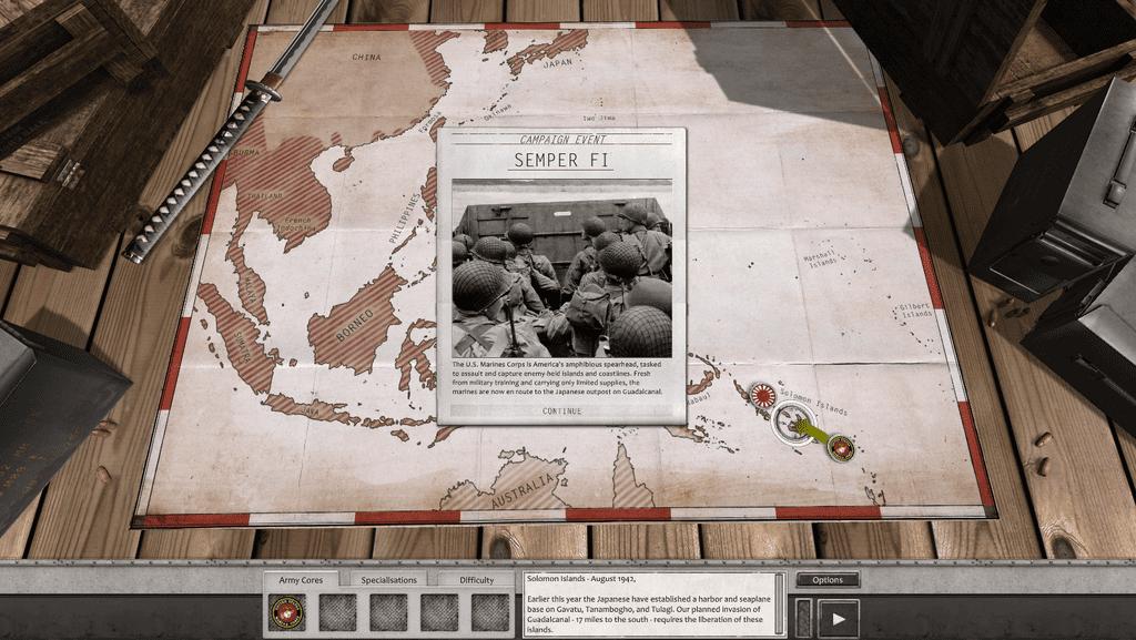 Video Game: Order of Battle – U.S. Marines