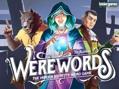 Werewords Hidden Identity Word Game Bezier Ted Alspach NEW SEALED