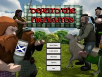Video Game: Defend the Highlands