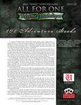 RPG Item: 101 Adventure Seeds (All For One: Régime Diabolique)